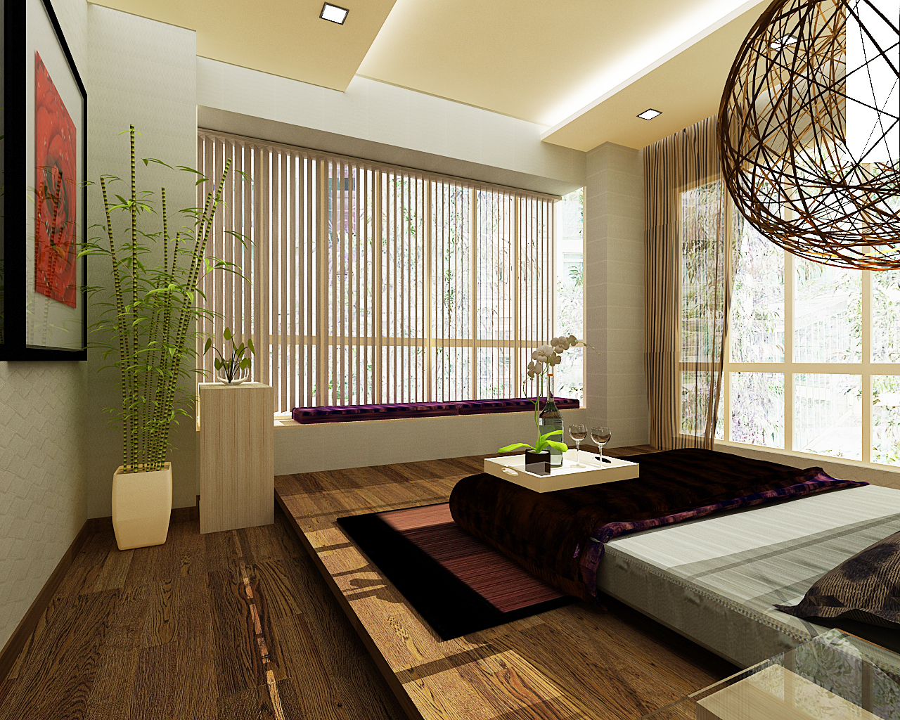 How to feng shui your bedroom a to zen of life for Design interieur chambre a coucher